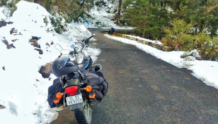Bike-ride-to-chakrata-in-Uttarakhand-ghoomshuda - in-Chakrata