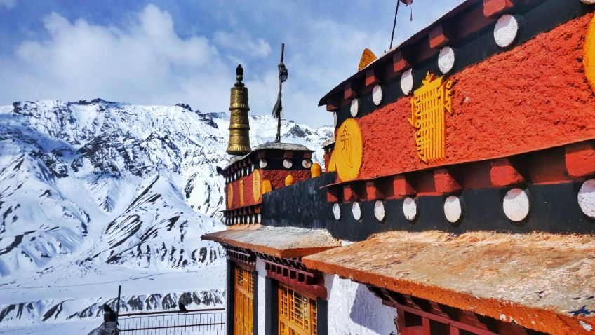 Key-monastery-in-winters-spiti-valley
