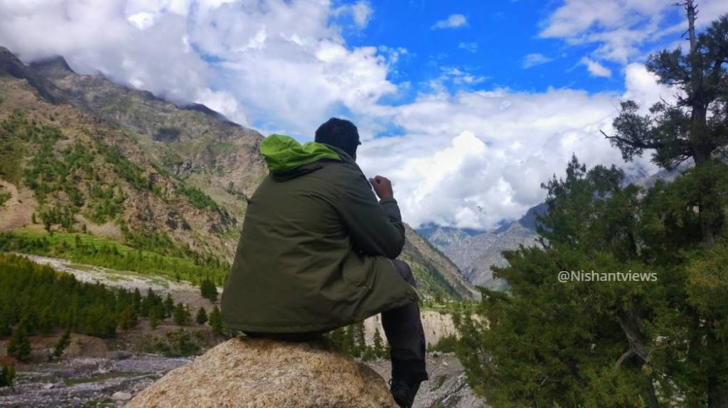shukto village in Miyar Valley Guide Nishant Views