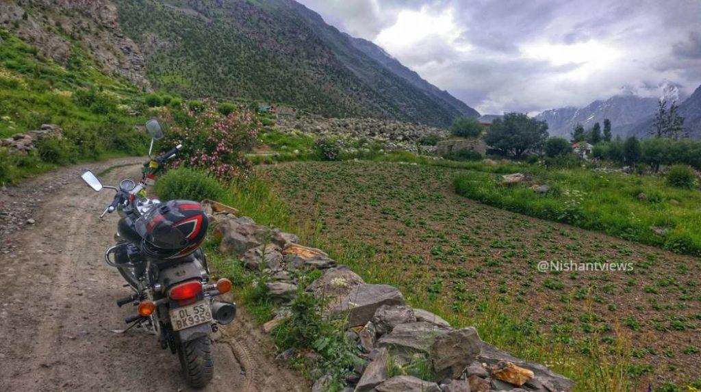 tingret village of Miyar valley